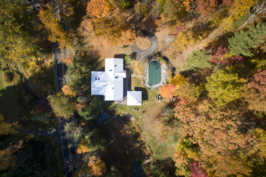 Aerial Views Boggs Hill House