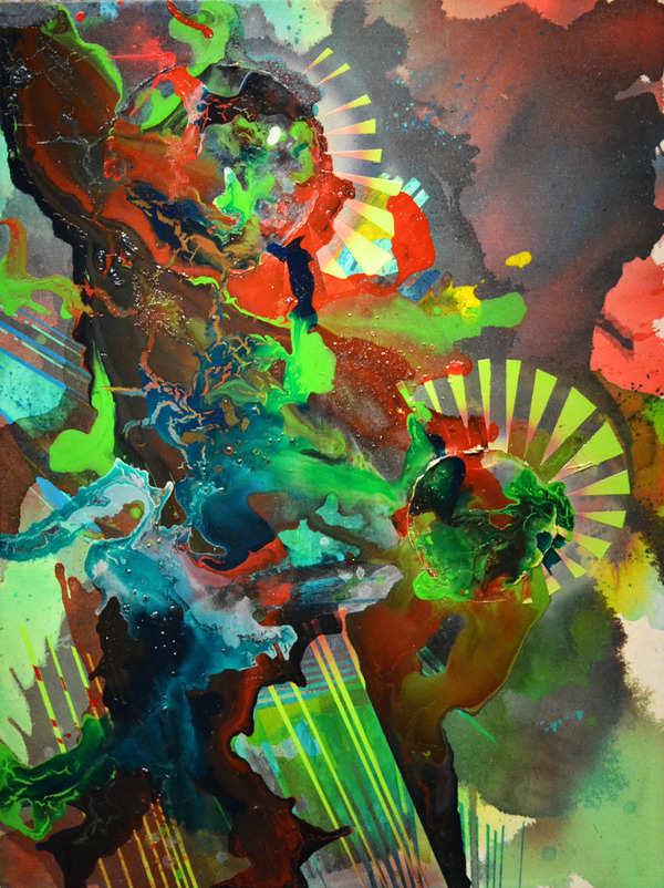 Brandon Shimmel Autopsy, 2011 Acrylic on Canvas over Panel