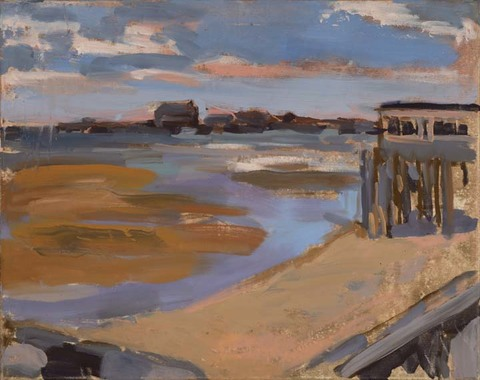Brian Gill Wendler Cape Cod Oil on Canvas