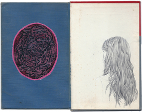 Brian Hitselberger Diptychs 2014 Graphite, chalk, oil paint on found surfaces