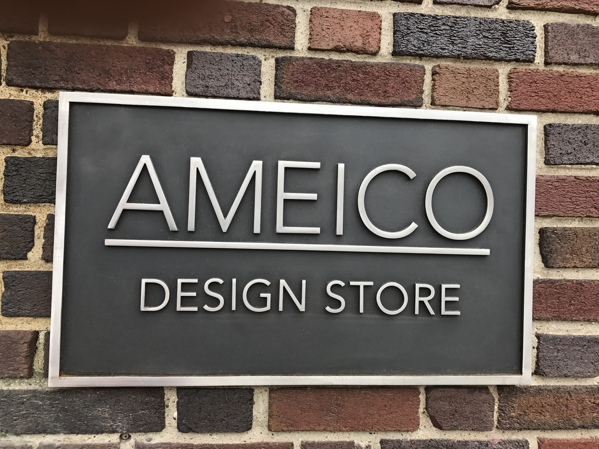 Featured projects Stainless steel sign