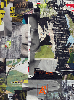 Paul Bright 2015 collage / decollage