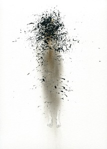 BRITTA KATHMEYER Smoke, 2012-13 Ink and Pencil on Smoked Paper