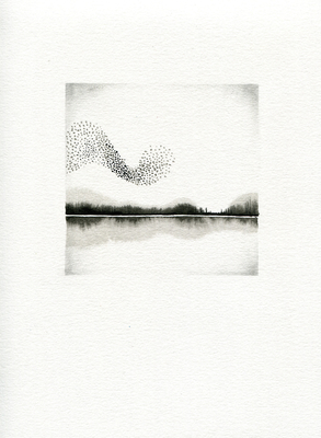BRITTA KATHMEYER Winter Reise, 2014 Ink and Graphite on Paper