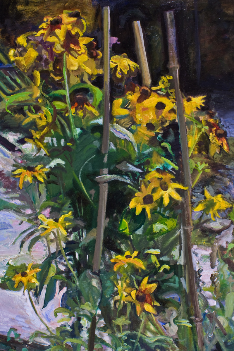 GREEN  Black Eyed Susans
