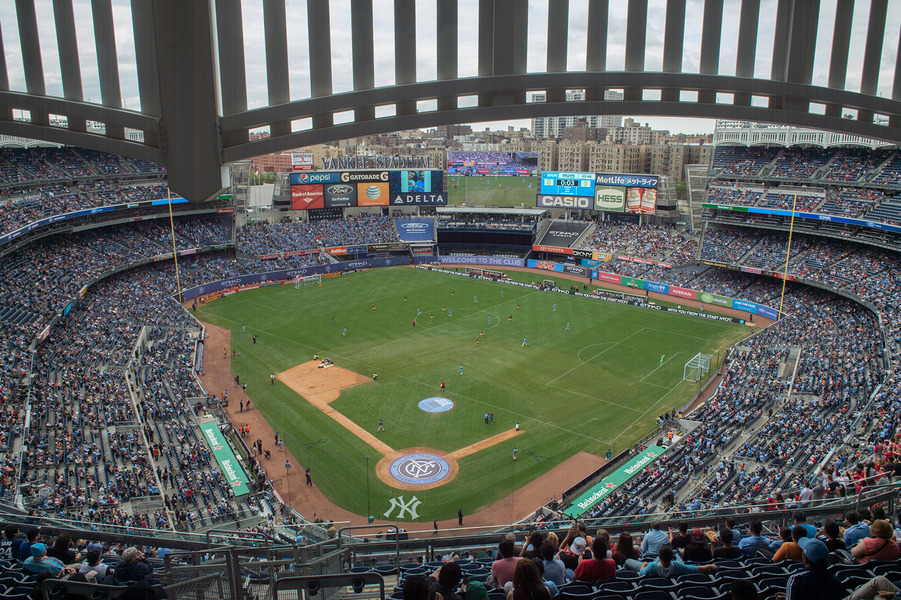 Sports NYCFC vs. NY Red Bulls - Yankee Stadium