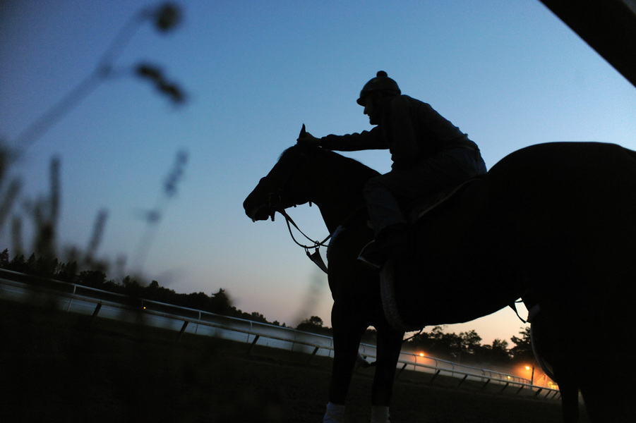 Sports Sunrise - Oklahoma Training Track - Saratoga