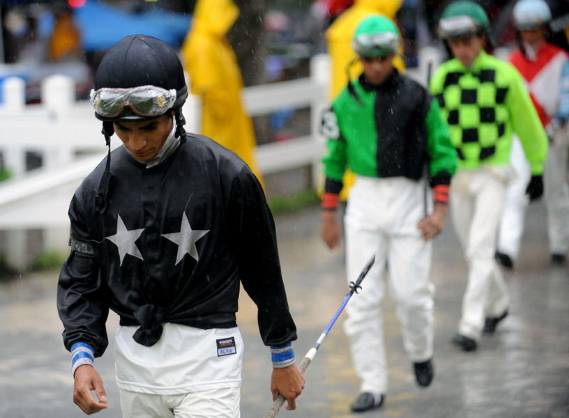 Sports Jockeys - Saratoga Racecourse