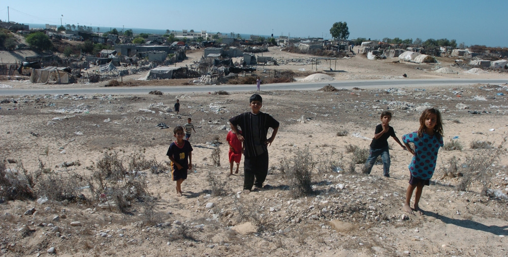 Gaza Strip and Israel Al Mawasi - Palestinian Settlement
