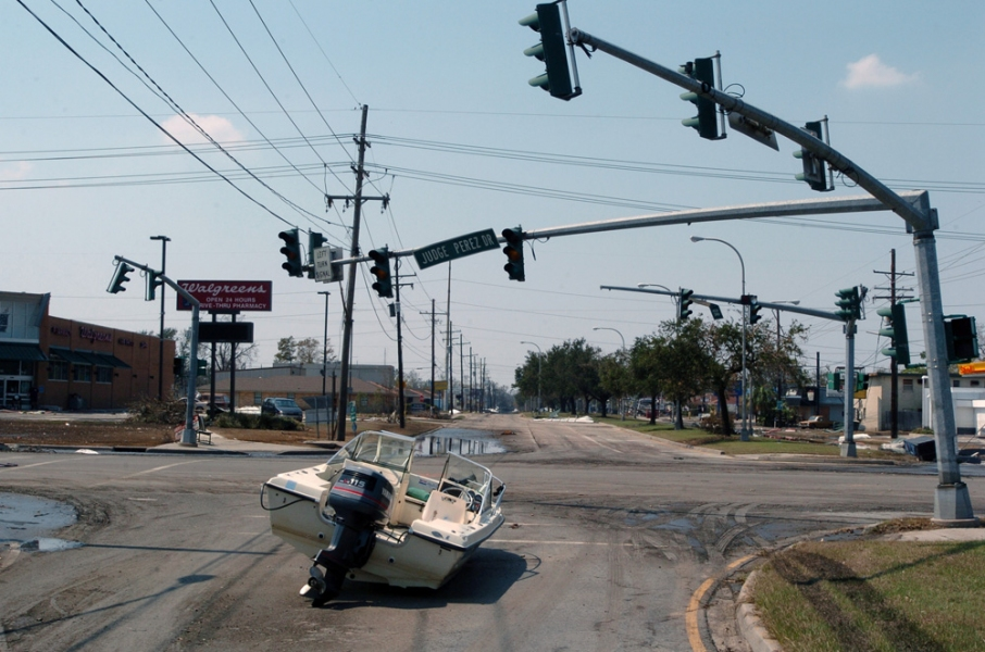 Natural Disasters  Aftermath Of Hurricane Katrina - St. Bernard Parish