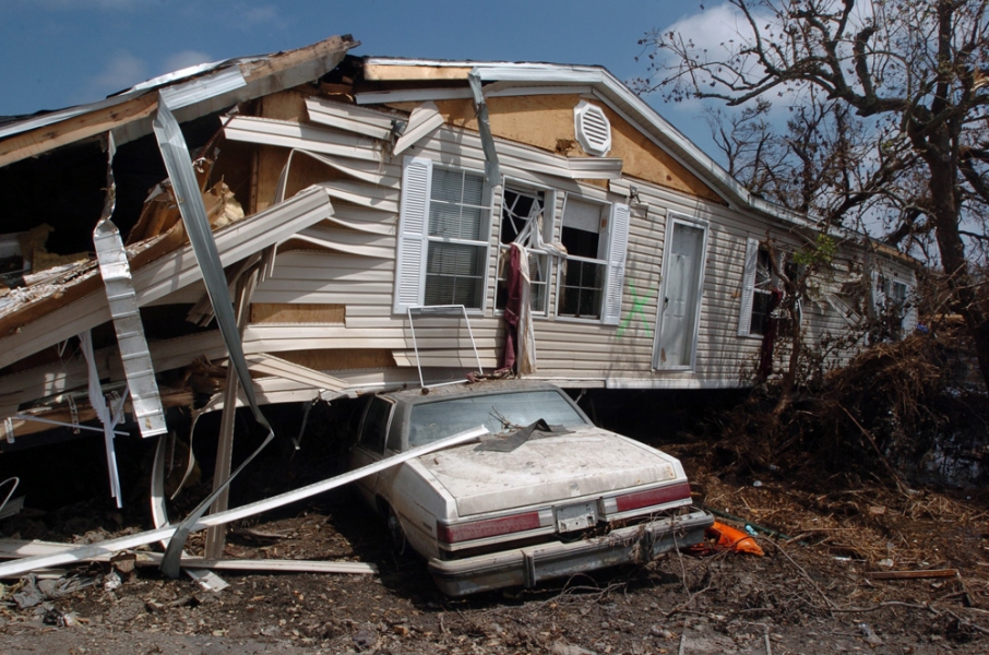 Natural Disasters  Aftermath Of Hurricane Katrina - Plaquemines Parish