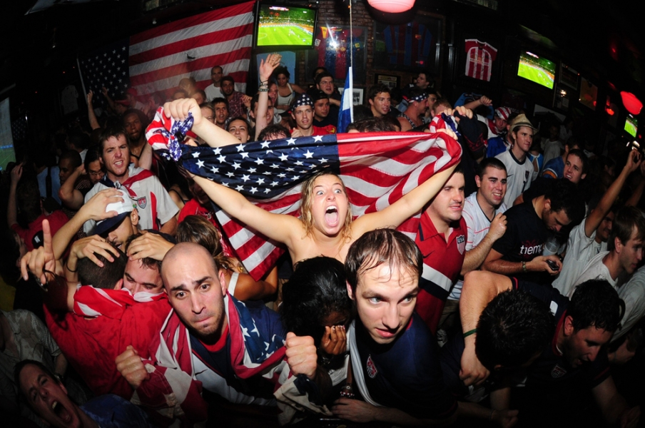 Sports 2010 World Cup at Nevada Smiths on Third Avenue