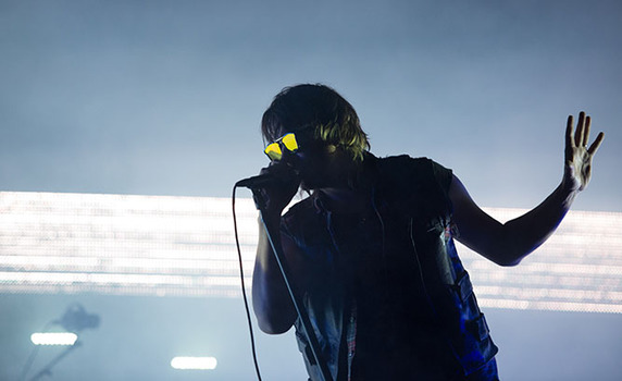 The Strokes perform at the Governors Ball Music Festival