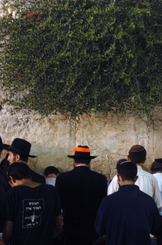 Jews Pray Against The Israeli Government's Planned Evacuation Of Settlements At The Western Wall