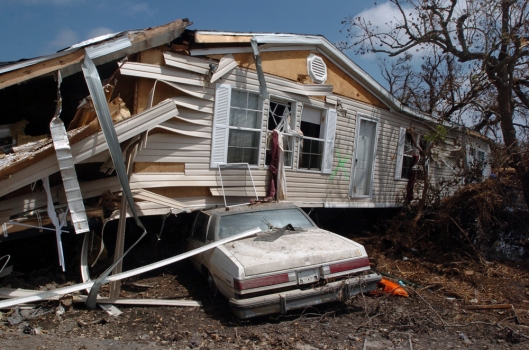 Aftermath Of Hurricane Katrina - Plaquemines Parish