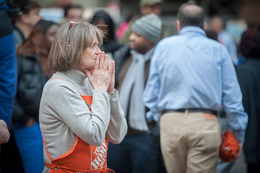 Home Depot Employee Following In Store Shooting