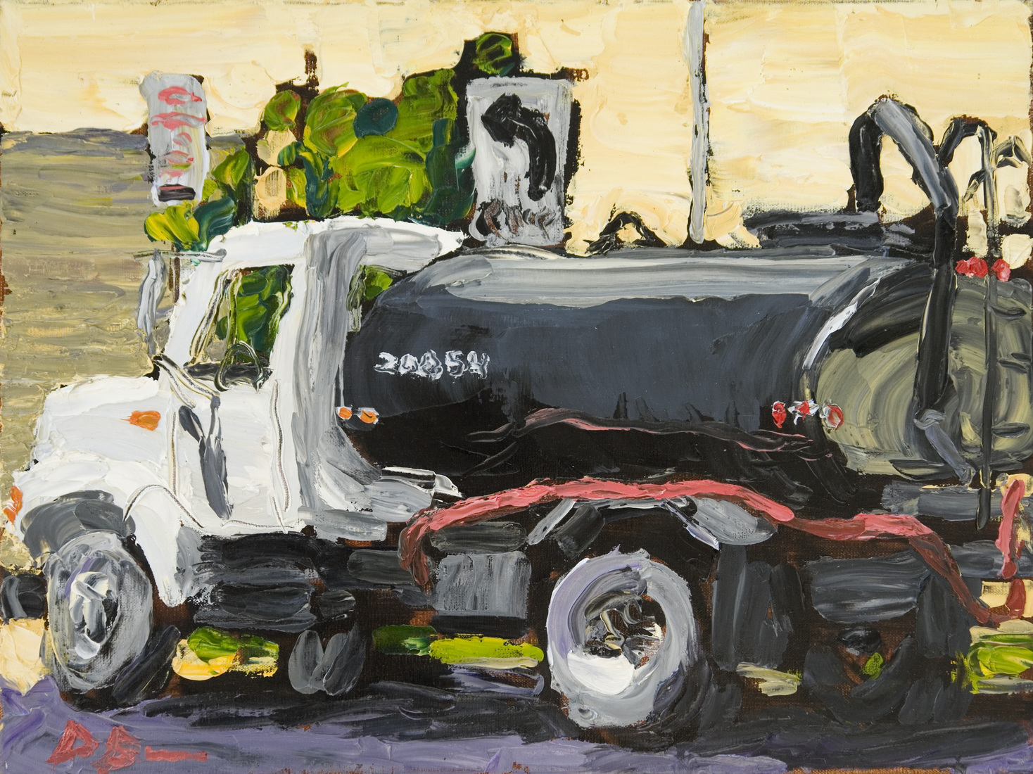 Austin Paintings Tanker Truck
