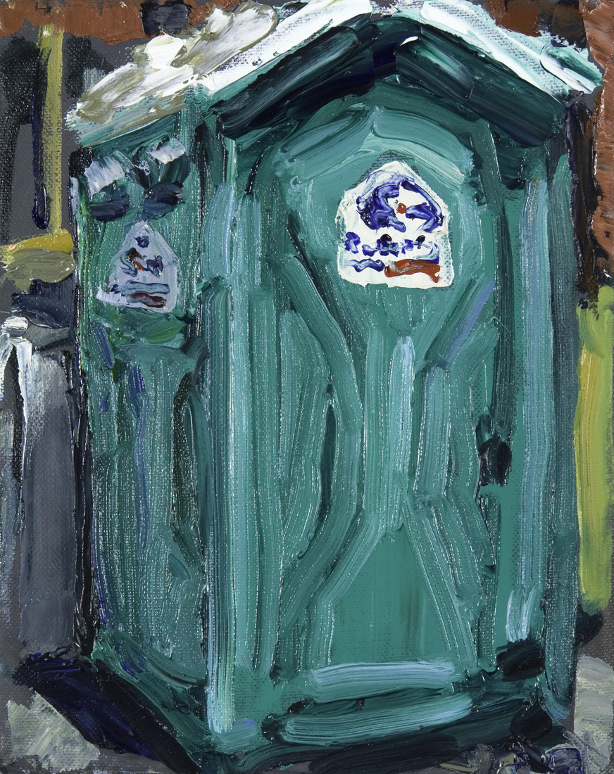 Austin Paintings Port-a-Potty