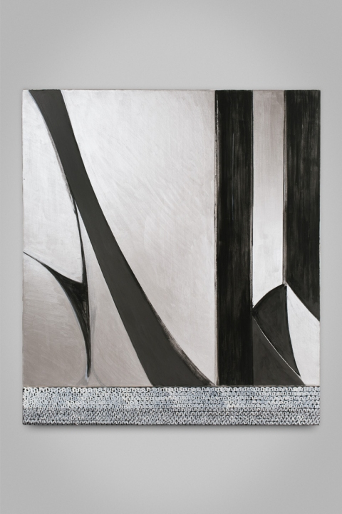 Cair Crawford HEMS & FOLDS 2010-2011 acrylic/canvas