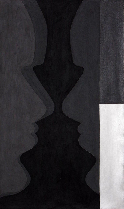 Cair Crawford CRUCIBLES 2009 acrylic/canvas