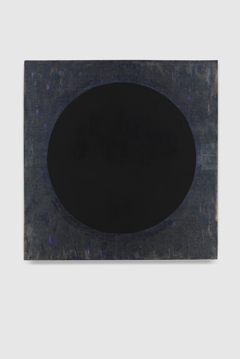 Cair Crawford BLACK HOLES  2015-16 acrylic/linen
