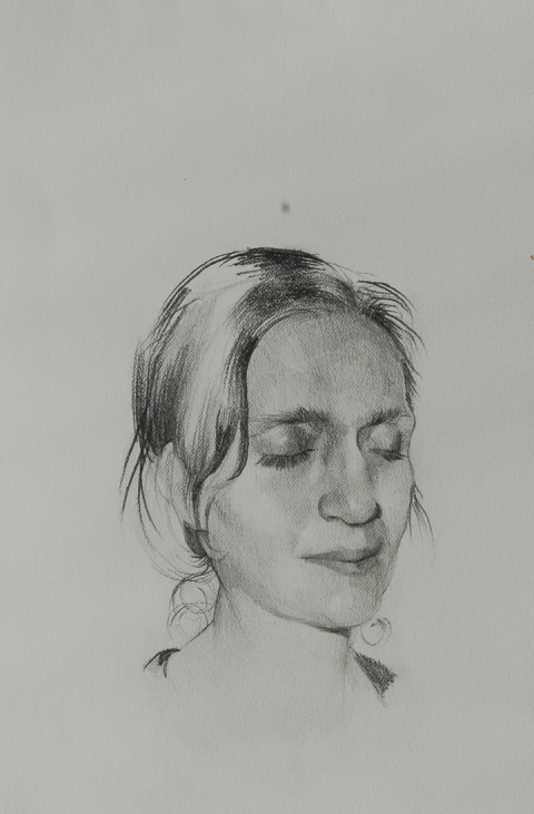 Drawings and Portraits pencil on paper