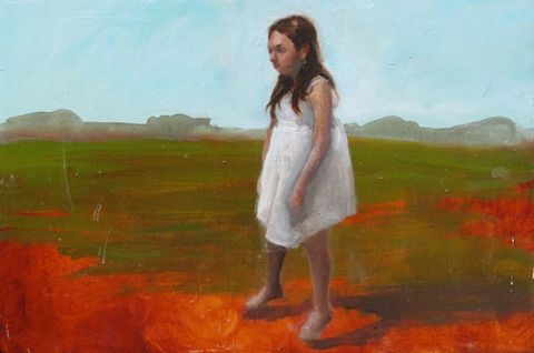 CAITLIN HURD Paintings  oil on board