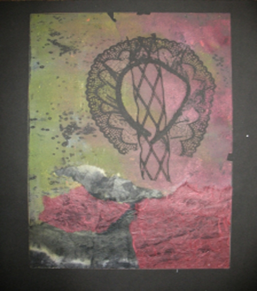 Cari Rosmarin abstract monotypes monoprint