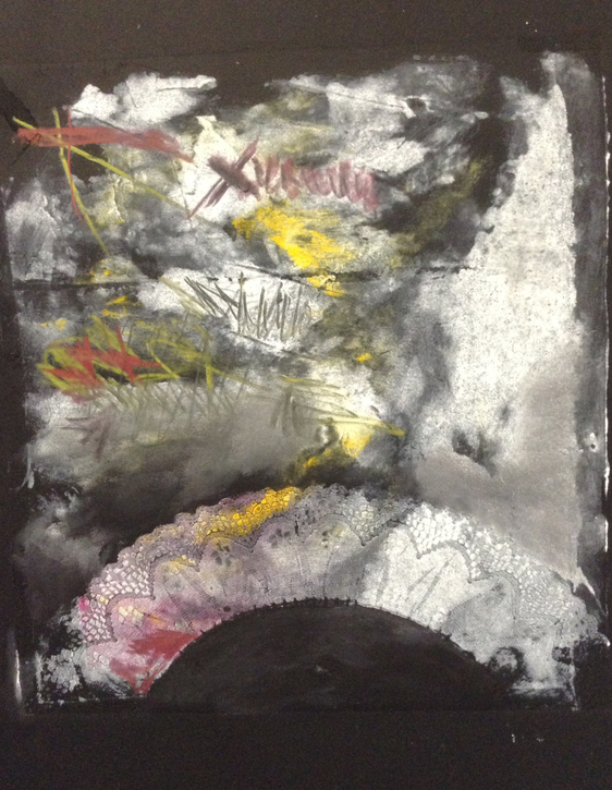Cari Rosmarin abstract monotypes monotype