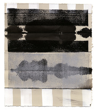 CARLA AURICH Drawings 2014- Fossil and Limestone sumi ink, printing ink and gouache on bfk paper