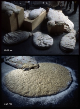 Carlos D. Szembek Works 1 ton of bread dough, fabric