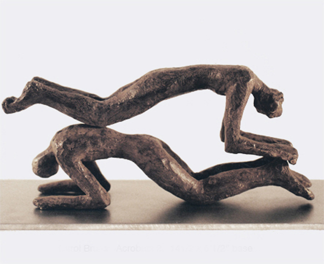 Carol Bruns Archive: Bronzes 1995-2001 bronze and steel