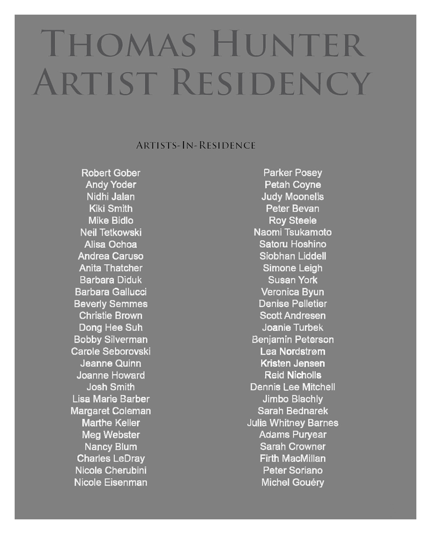 "Catalogues / Publications ""The Air: Artist in Residence."""
