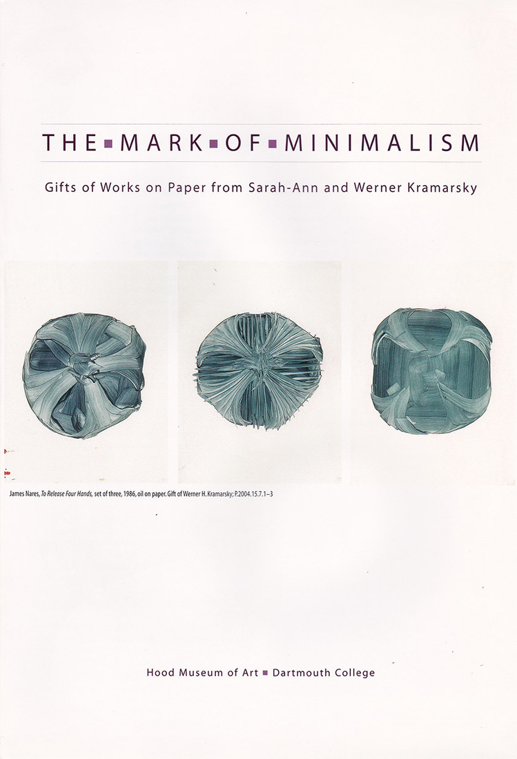 "Catalogues / Publications Lind, Margaret. ""The Mark of Minimalism."""