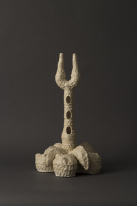 Carole Seborovski Sculpture Fired clay, medium-fire glaze.