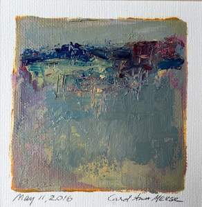 Carol Anna Meese Small Paintings acrylic on canvas