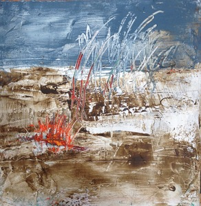 Carol Anna Meese Small Paintings oil and cold wax on board