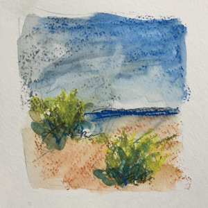 Carol Anna Meese Small Paintings watercolor on paper