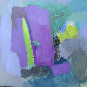 Carol Anna Meese Small Paintings acrylic on board