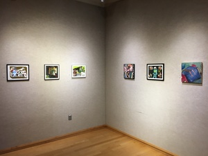 Carol Radsprecher Exhibition Installation Photos