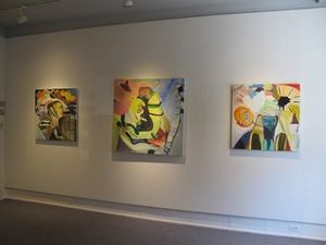 Carol Radsprecher Exhibition Installation Photos Oil paintings (on canvas)