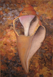 CAROLYN SWIFT Midlife mixed media collage: acrylic paint, colored pencil, graphite pencil