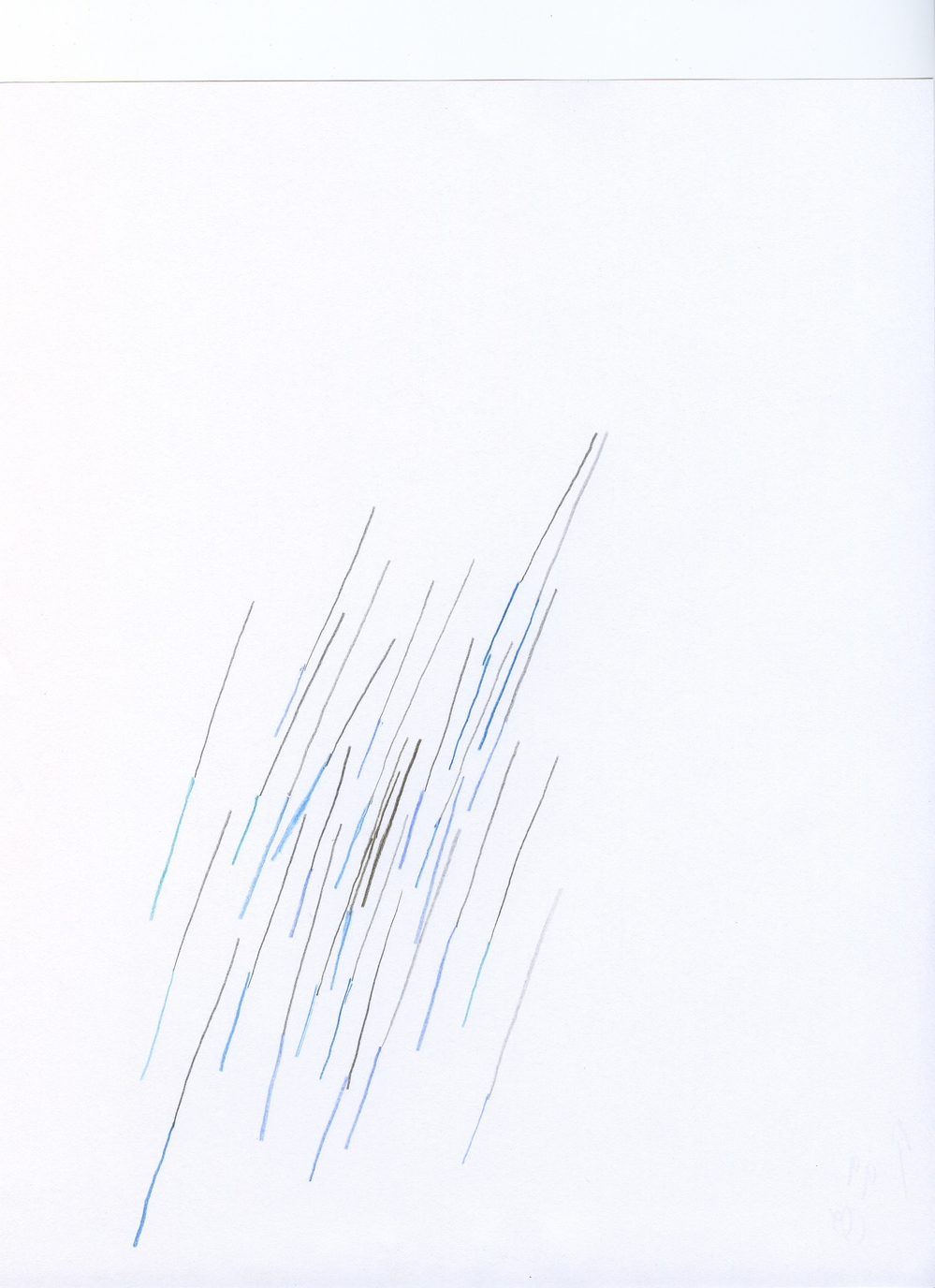 100 compositional sketches, 2008