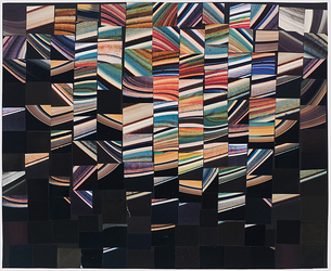 Carrie Gundersdorf Collage, 2008 - present found images/paper
