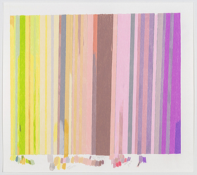 Carrie Gundersdorf Recent Work, 2012 - present colored pencil and watercolor on paper