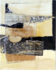 Cate M. Leach Works on Paper acrylic and collage
