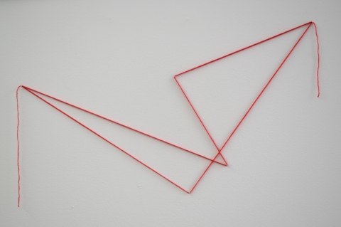 tracings Untitled (1 trace in red)