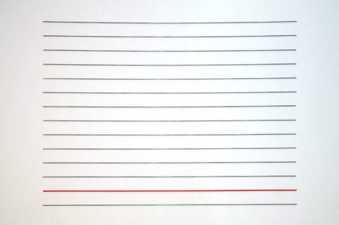 lines Untitled (14 lines, 1 red)