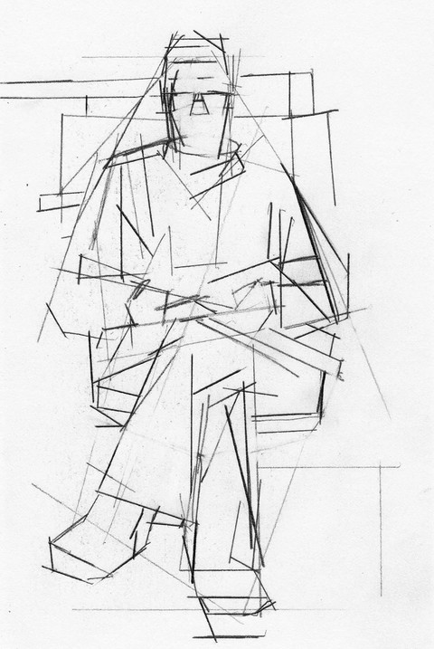 WORKS ON PAPER SP Seated