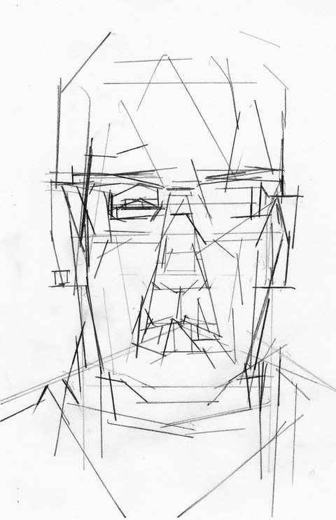 WORKS ON PAPER SP Head